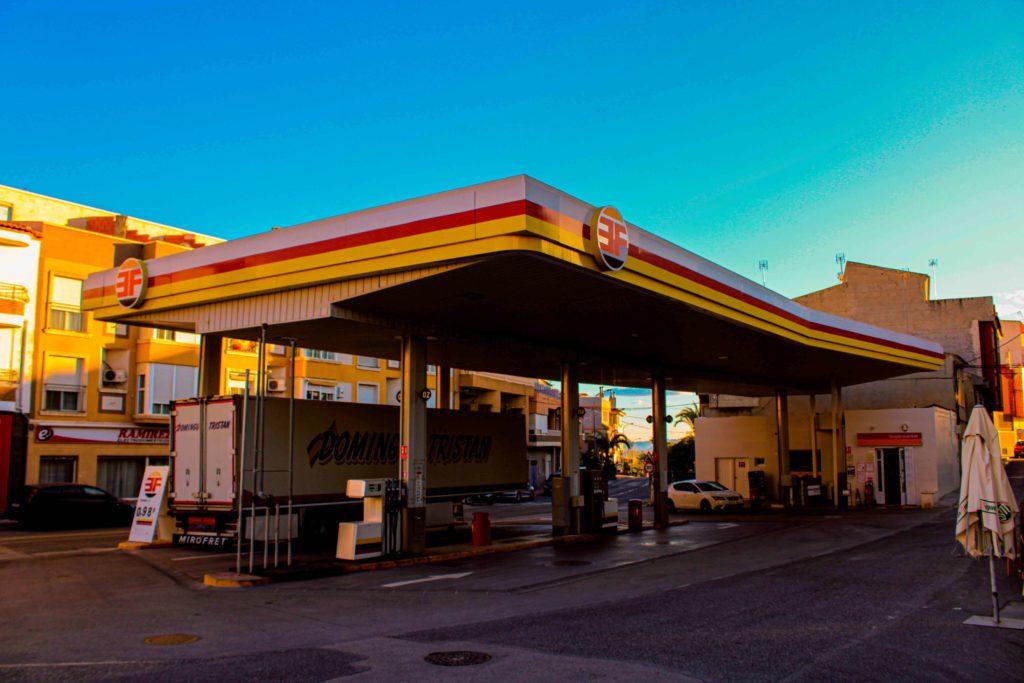 gasolinera gasoil